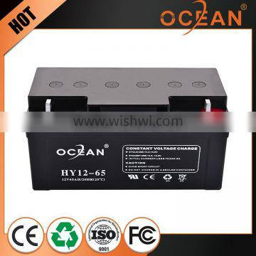 Best price made in china 12V soft pack 65ah gel battery cheap