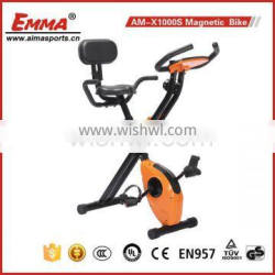 Cycle trainer spin bike/magnetic bike/belt drive X1000S