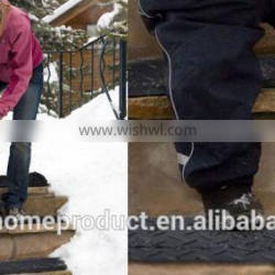 2015Newes Stylish black color snow melting mats for stairs