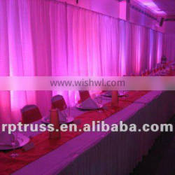 Backdrop pipe and drape portable Pipe & Drape for Events & Exhibits