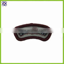 China nice custom patch embroidery woven label patch