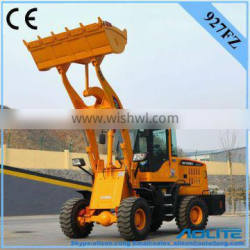sound-proof 1500kg rated load ce certification wheel loader price for road construction