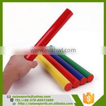 sports items track and field plastic relay baton