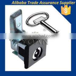 Black or Gray painting coated mortise cylinder cam lock