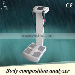 Body fat analyzer machine,8-inch LCD touch screen, be able to store up to 120 complete historical records