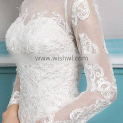 Full Lace Wedding Dress Charming A-line