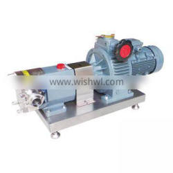 Stainless steel SS304 sanitary food industrial rotor water pump