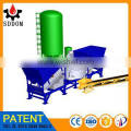 MD1500 mobile concrete mixing plant design for island