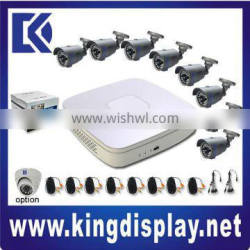 new 8channel dvr cctv products package kits
