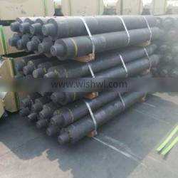 Uhp500mm Machining Graphite Electrodes For Cast Steel Electrode
