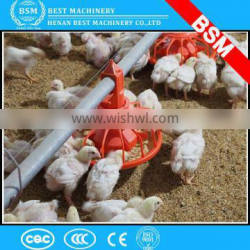 farm automatic chicken poultry auger easy pan feeding system / Durable Chicken Farms Feeding System
