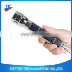 2016 solar emergency use torch with LEDs