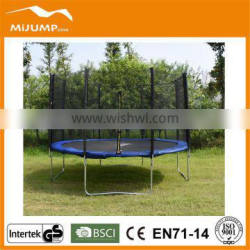 15ft Large sized Trampoline with Enclosure for Outdoor Play