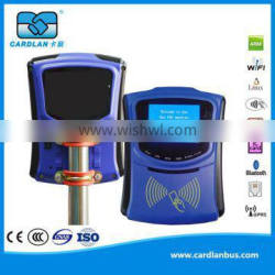 RFID tag scanner used on bus support GPRS and GPS