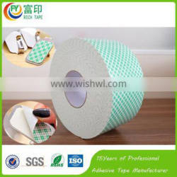 2mm thick removable hanger Tape Double Sided Rubber Adhesive