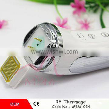 High quality wrinkle remover device portable skin tightening machine beauty salon RF thermagic device