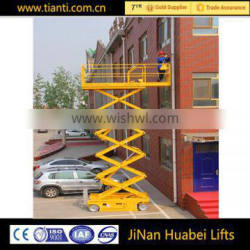 2016 mobile scissor electric hydraulic lift tables
