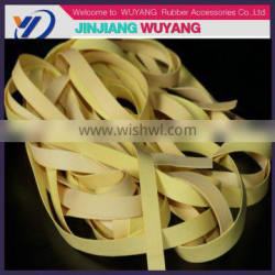 2016 Customized rubber belt for clothes made in china elastic band in quanzhou