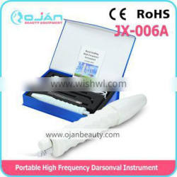 popular in Poland portable high frequency ozone face machine with CE JX-006A