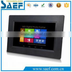 7 inch taxi lcd display with advertising digital media player with/without touch