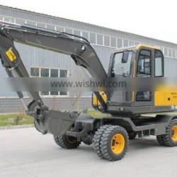 Mini Track Excavator Small Space Construction Operations