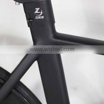 700c aluminum alloy smooth welding technology frame track bike with ACCRUE wheelsets