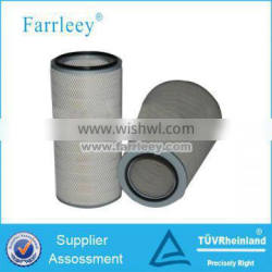 Cellulose paper cartridge for air filters