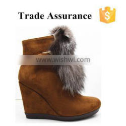 Wholesale High Quality furry boots for women