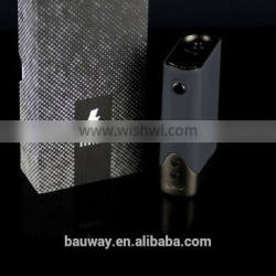 2017 Best selling 18650 batteries box mod from china Banshee get samples Hidden LED screen
