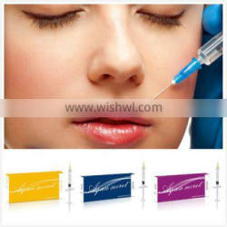 Superior quality high purity cosmetic grade injectable hyaluronic acid