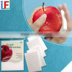 New business ideas daily use compressed fruit cleaning melamine sponge