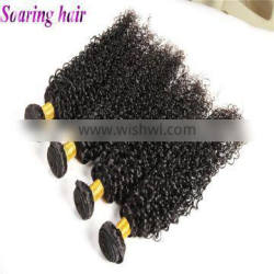 Natual color remy human dyeable curl virgin wholesale curl good curly hair weave