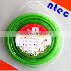 3.0mm round Nylon Grass Trimmer Line with blister package