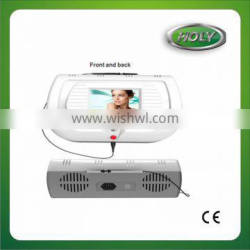 Portable high frequency spider vein face vein removal