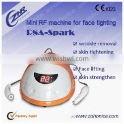 Multi rf radio frequency anti wrinkle/portable rf radio frequency machine
