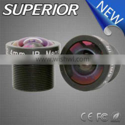 Top selling car products super wide angle 2.4mm m12 f2.0 1/3 inch cctv board cmos camera lens