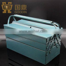 SUITCASE TOOL BOX WITH DOUBLE HANDLE/HARDWARE TOOL BOX