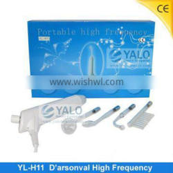 YL-H11 D'arsonval Violet Ray Electrodes glass tube with CE