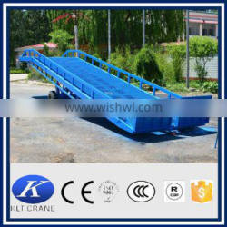 forklift heavy duty hydraulic mobile loading ramp