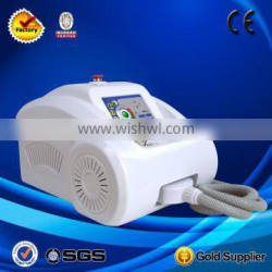 0.5HZ Tattoo /birth Mark Removal Q Switched Naevus Of Ito Removal Nd Yag Laser Machine With 3 Tips
