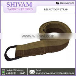 Impeccable Finish And Optimum Strength Relax Yoga Strap