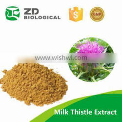 milk thistle extract powder,medical grade milk thistle extract powder,silymarin