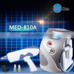 1600mJ Q-switched ND YAG laser tattoo removal machine med-810A