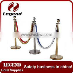 Queue rope stanchion Railing Stand for hotel Supplier's Choice