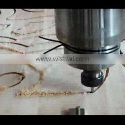 CNC router machine for plastic wood mdf plexiglas acrylic engraving with 3kw spindle 2030cnc router bed cutting