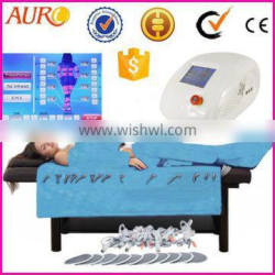 AU-6809 high slim effect infrared pressotherapy lymphatic drainage equipment slimming machine