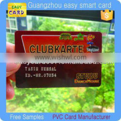 manufacturer supply thin / cheap / hard plastic business cards