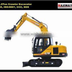 CE / ISO , 8.5 Ton Compact China Made Cheap Brand New Excavator, CE / ISO Certificate, CT85-8A , CT85-8B