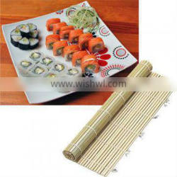 Sushi Rolling Mat Is Maiking The Model Of Sushi.