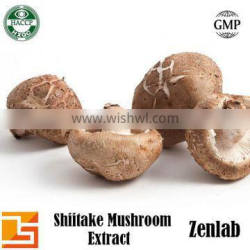 best quality organic plant extract prices for shiitake mushrooms extract